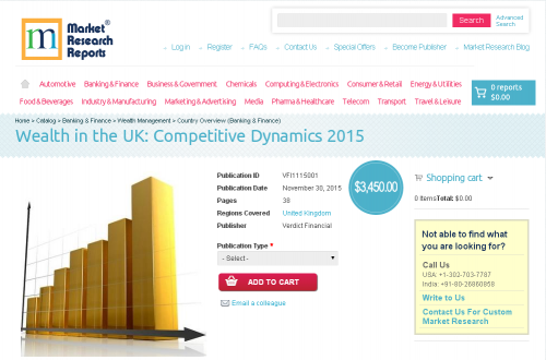Wealth in the UK: Competitive Dynamics 2015'