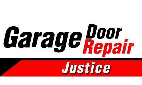 Company Logo For Garage Door Repair Justice'