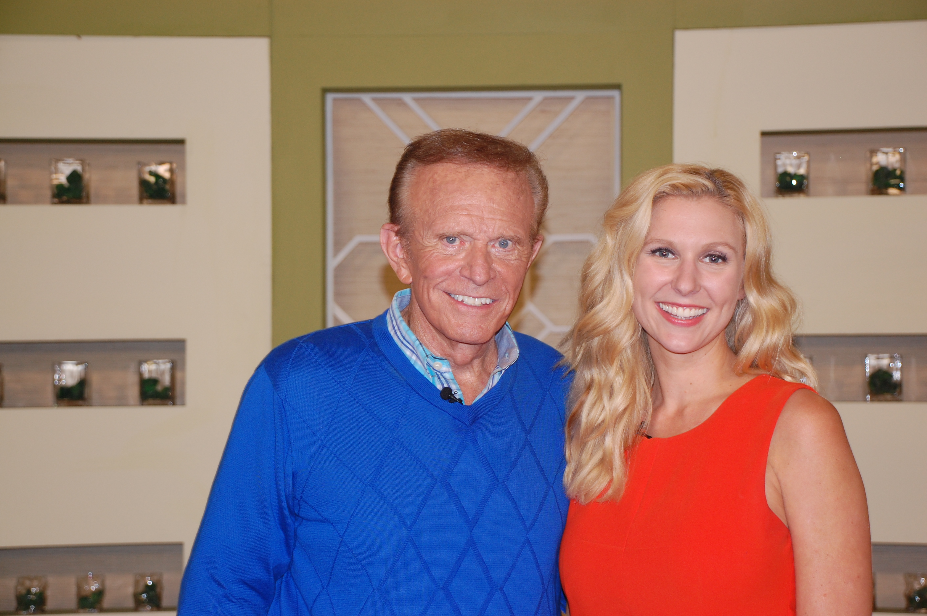 Bob Eubanks and Natasha Lloyd