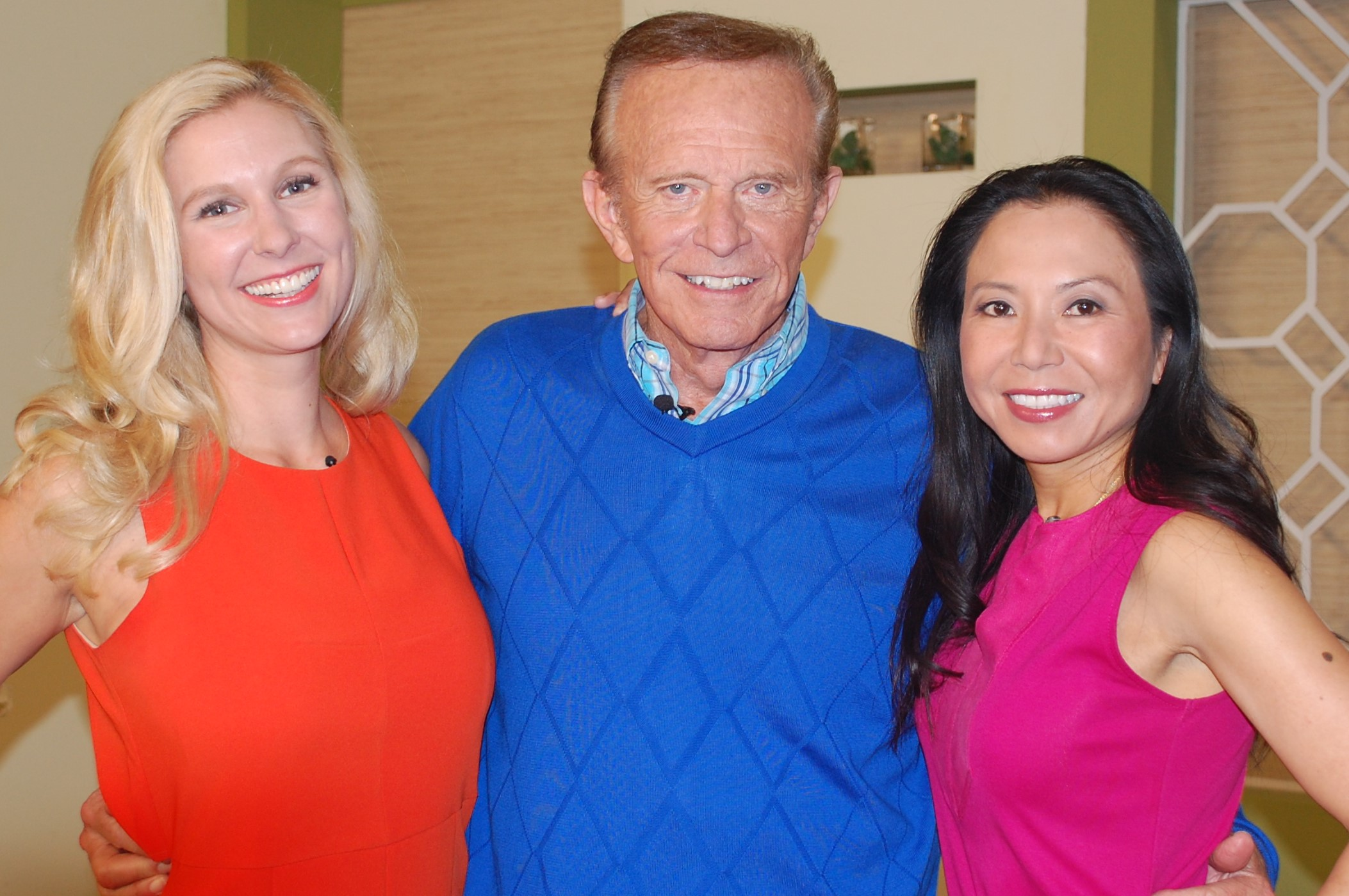 Natasha Lloyd, Bob Eubanks and Sue Chen