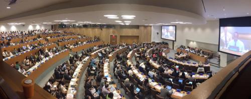 UN Hall'