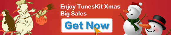 TunesKit 2015 Christmas Big Sales