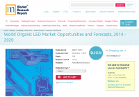 World Organic LED Market Opportunities and Forecasts, 2014