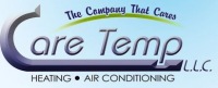 Care Temp Heating and Air Conditioning Logo