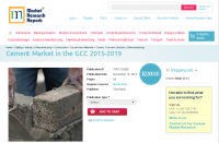 Cement Market in the GCC 2015 - 2019