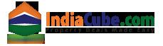 Logo for indiacube.com'