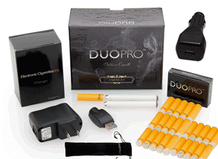 Duo Pro Ultimate Kit of Electronic Cigarette Inc.'