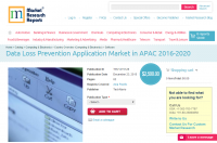 Data Loss Prevention Application Market in APAC 2016 - 2020