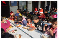 Private Jet Charter Provides Christmas Charity Dinner in Nep
