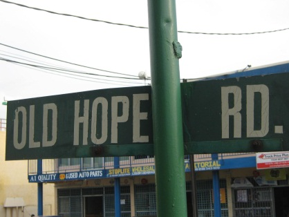 Old Hope Road'