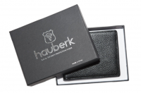 Hauberk Quality Bifold Soft Leather Wallet for Men