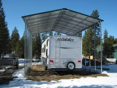 outdoor garage'