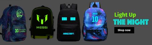 Udslife.com Releases Glow in the Dark Backpacks'