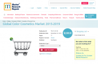 Global Color Cosmetics Market 2015 - 2019