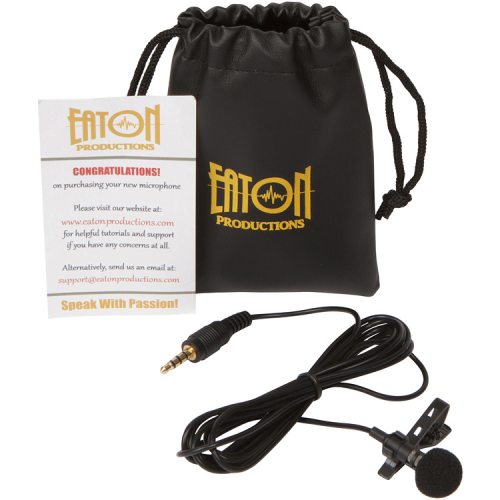 Eaton Productions Lavalier Microphone for Smartphones'