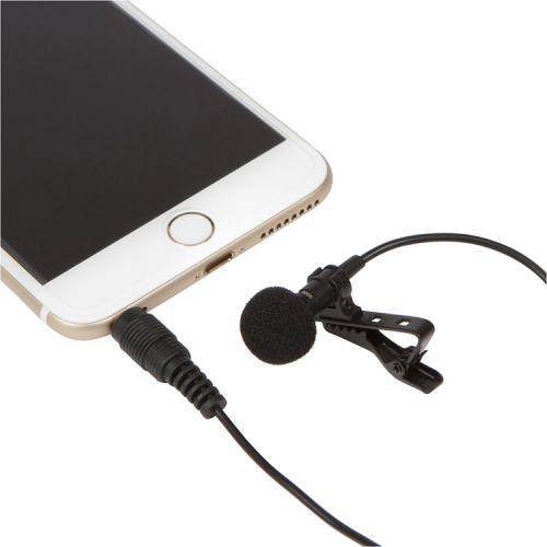 Eaton Productions Clip-on Lapel Mic for Smartphones'