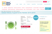 Global Dietary Supplements Market 2015 - 2019
