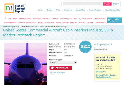 United States Commercial Aircraft Cabin Interiors Industry'