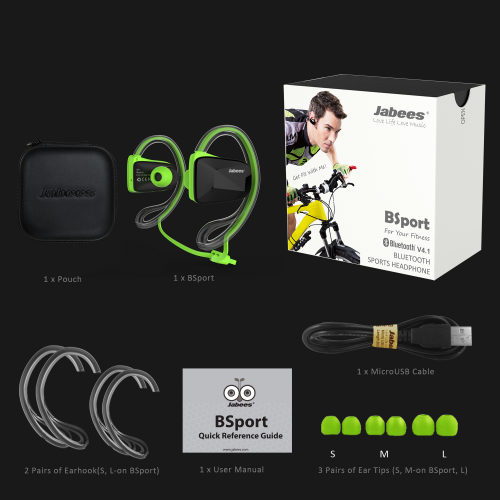 BSport by Jabees-An Excellent Wireless Sport Headphones On P'