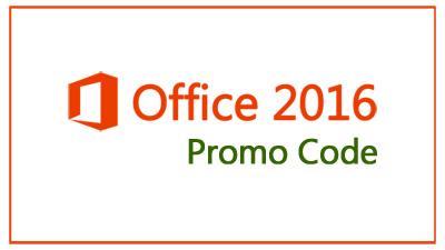 Office 2016 Promo Code'
