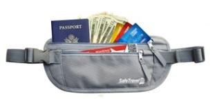 Safe Travel Money Belt'