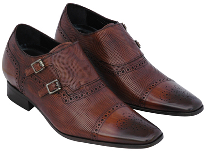 Mens elevator shoes, increase your height 2,75 inches'