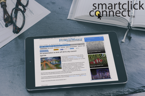 SmartClickConnect on Tablet'