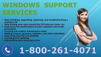 Windows customers support number 1-800-485-4057