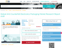 Global Anti-Counterfeit Electronics Packaging Market 2018
