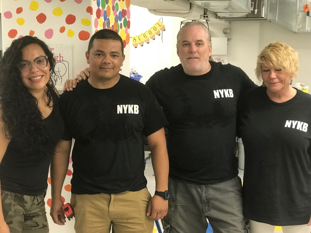 NYKB New Kitchen Donation Team