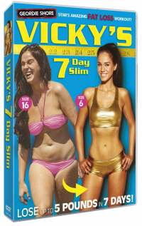 Vicky Pattison 7 Day Slim Exercise DVD Cover