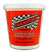 Champion Oil Launches New Disc Brake Wheel Bearing Grease