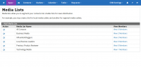 ReleaseWire CRM - Media List Management